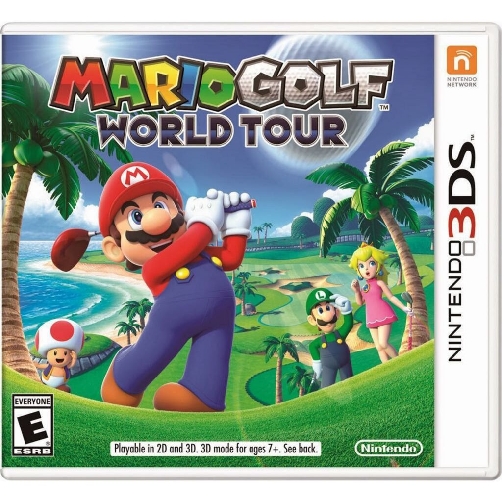 447-077 - Mario Golf: World Tour Nintendo 3DS Video Game
