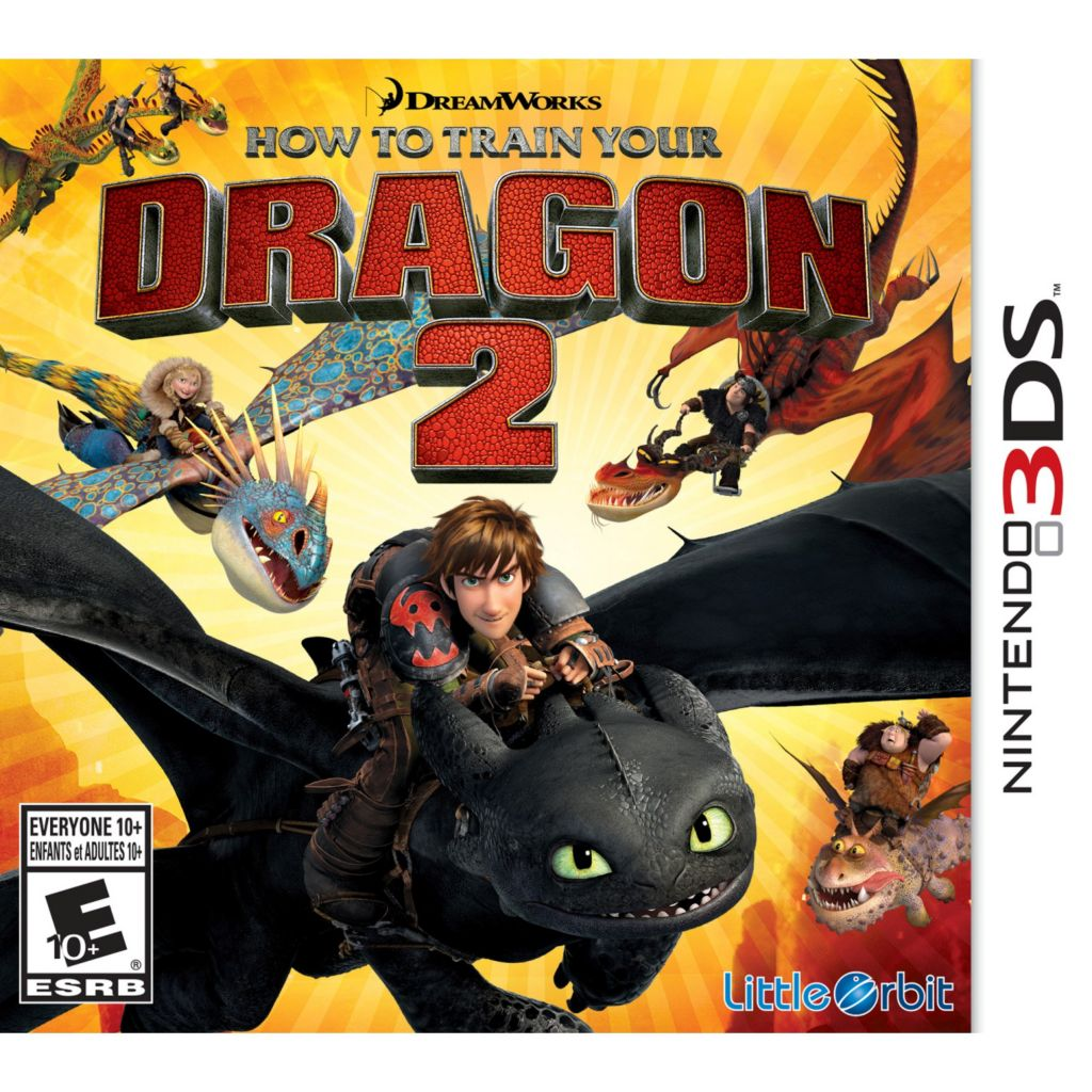 447-081 - How To Train Your Dragon 2 Video Game
