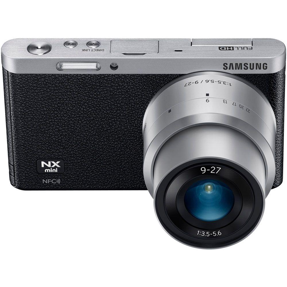 447-107 - Samsung 20.5MP Interchangeable Lens Camera w/ 9-27mm Lens & NFC