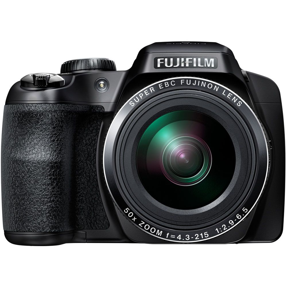 447-119 - Fujifilm FinePix 16MP Digital Camera w/ Built-in Wi-Fi