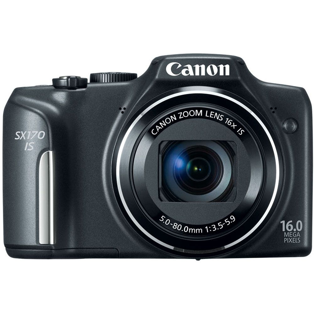 447-126 - Canon PowerShot SX170 IS 16MP Camera w/ 16x Zoom Lens