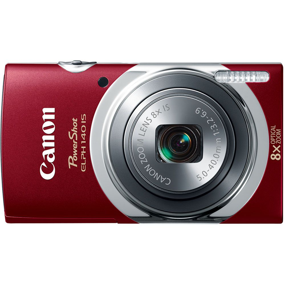 447-127 - Canon PowerShot ELPH 140 IS 16MP Digital Camera