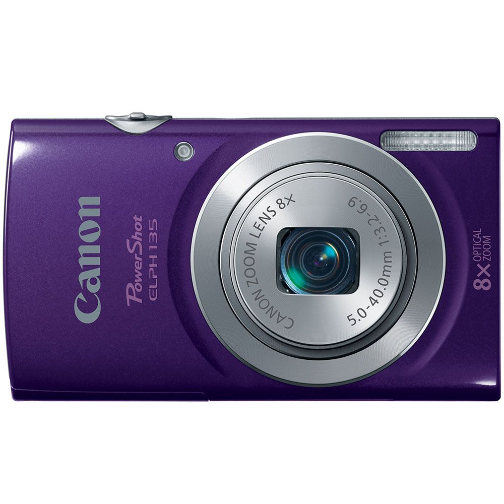 447-128 - Canon PowerShot ELPH 135 16MP Digital Camera