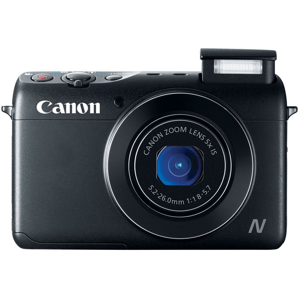 447-130 - Canon PowerShot N100 12.1MP Digital Camera w/ 5x Zoom & Built-in Wi-Fi