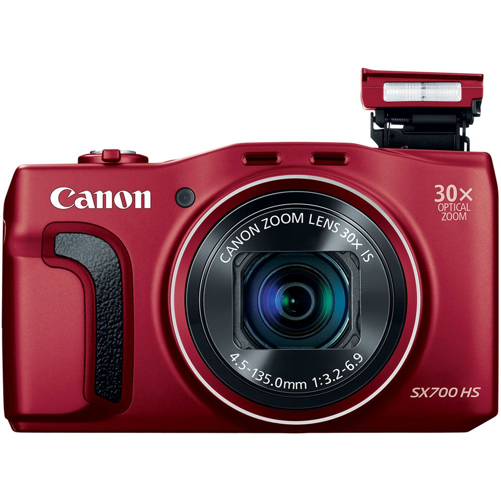 447-132 - Canon Power Shot SX700 HS 16.1MP Digital Camera w/ Built-in Wi-Fi