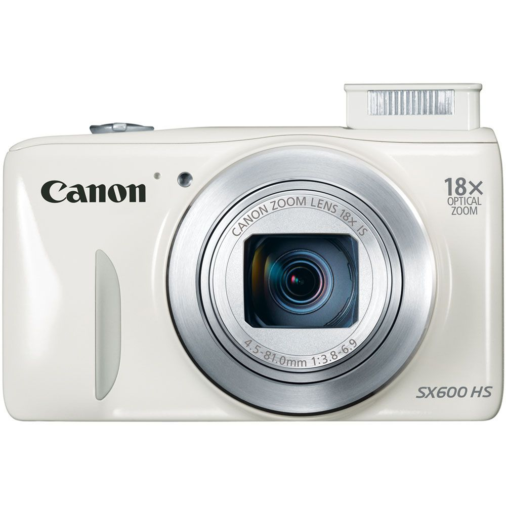 447-133 - Canon PowerShot SX600 HS 16.1MP Digital Camera w/ 18x Zoom & Built-in Wi-Fi