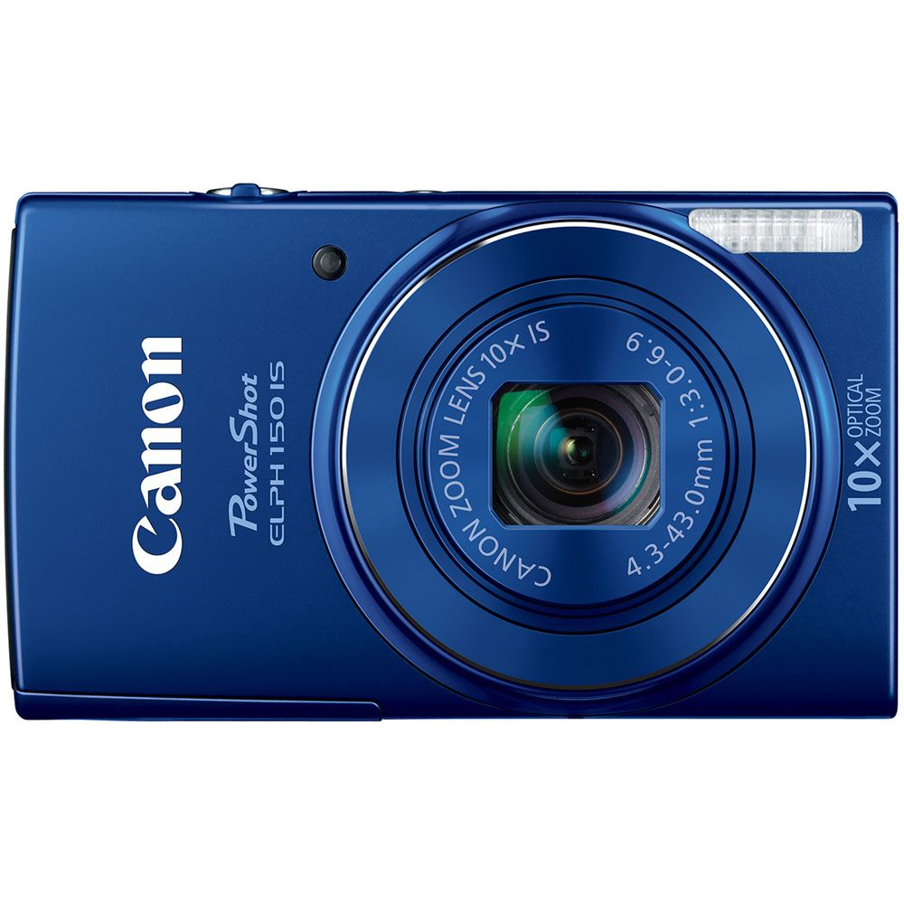 447-135 - Canon PowerShot ELPH 150 IS 20MP Digital Camera w/ 10x Optical Zoom