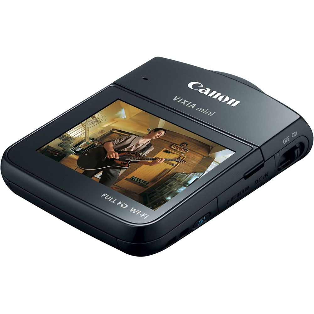 447-137 - Canon VIXIA Mini HD 12.8MP Digital Camcorder w/ Built-in Wi-Fi