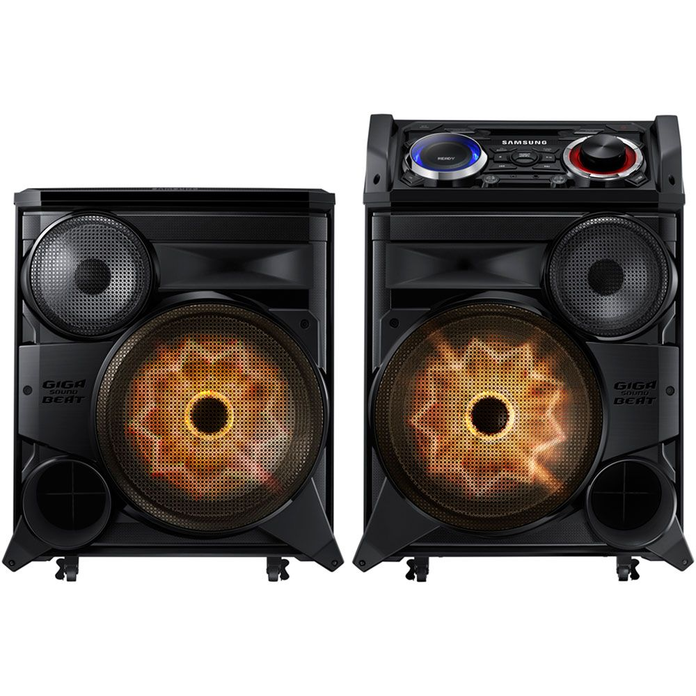 447-144 - Samsung 2500W Bluetooth® GIGA Sound System w/ Color Strobe Lighting & DJ Effects