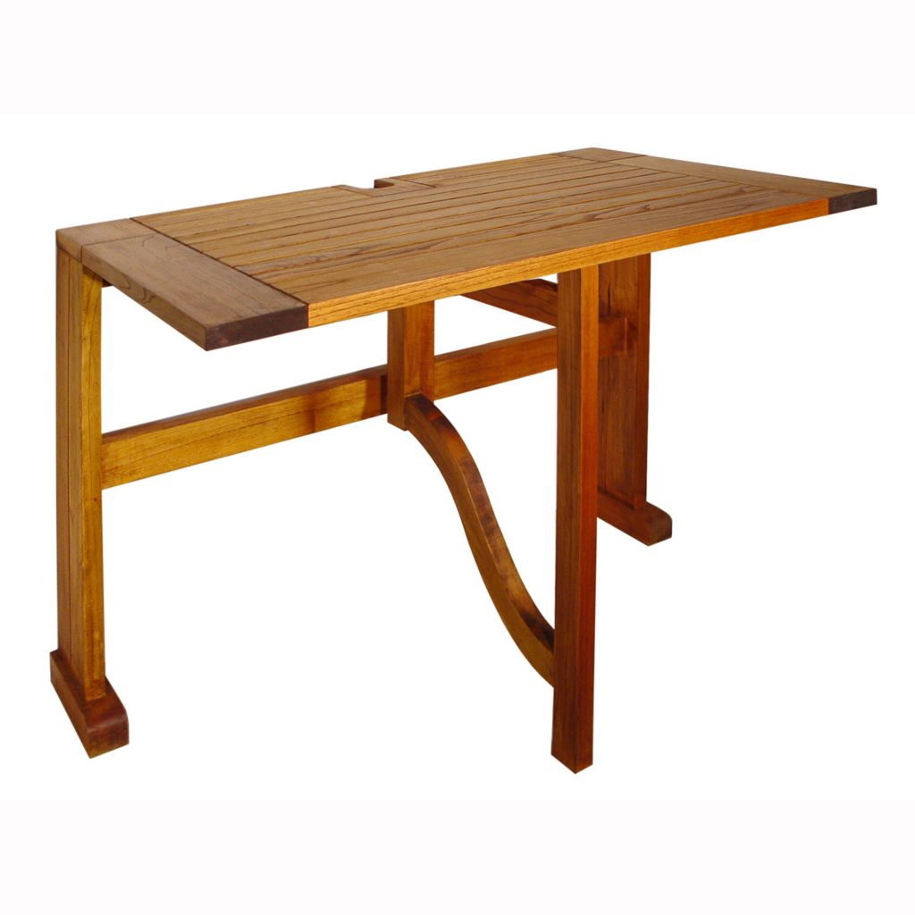 "447-162 - Terrace Mates® 36"" Half Square Gate Leg Drop Leaf Table"