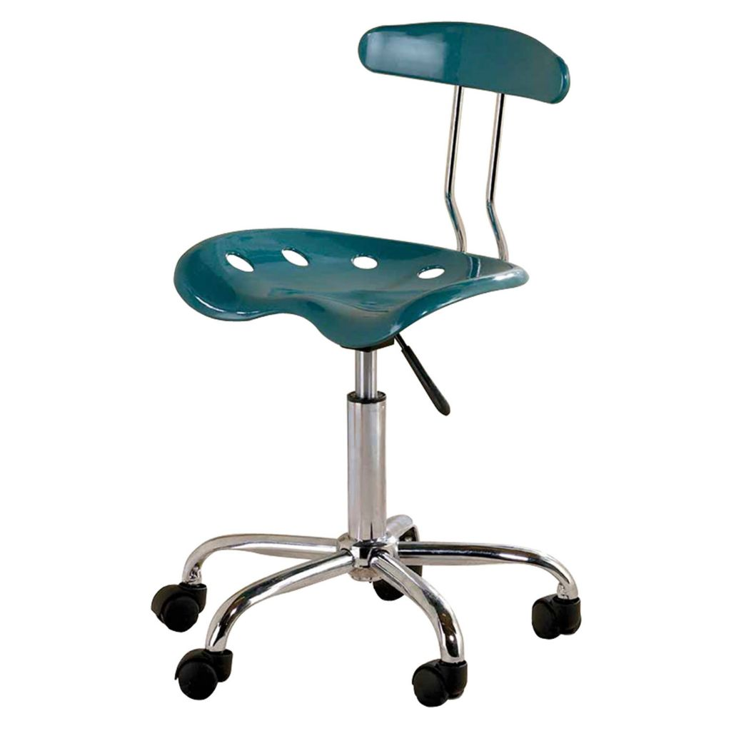 "447-187 - 31"" Tractor Seat Adjustable Height Swivel Task Chair"