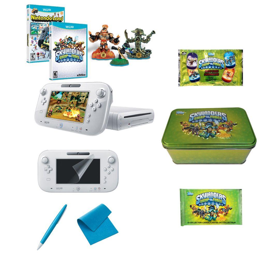 447-194 - Wii U Super Skylanders Swap Force Bundle