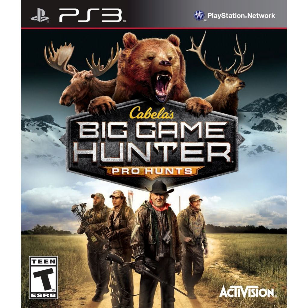 447-201 - Cabela's Big Game Hunter: Pro Hunts Video Game