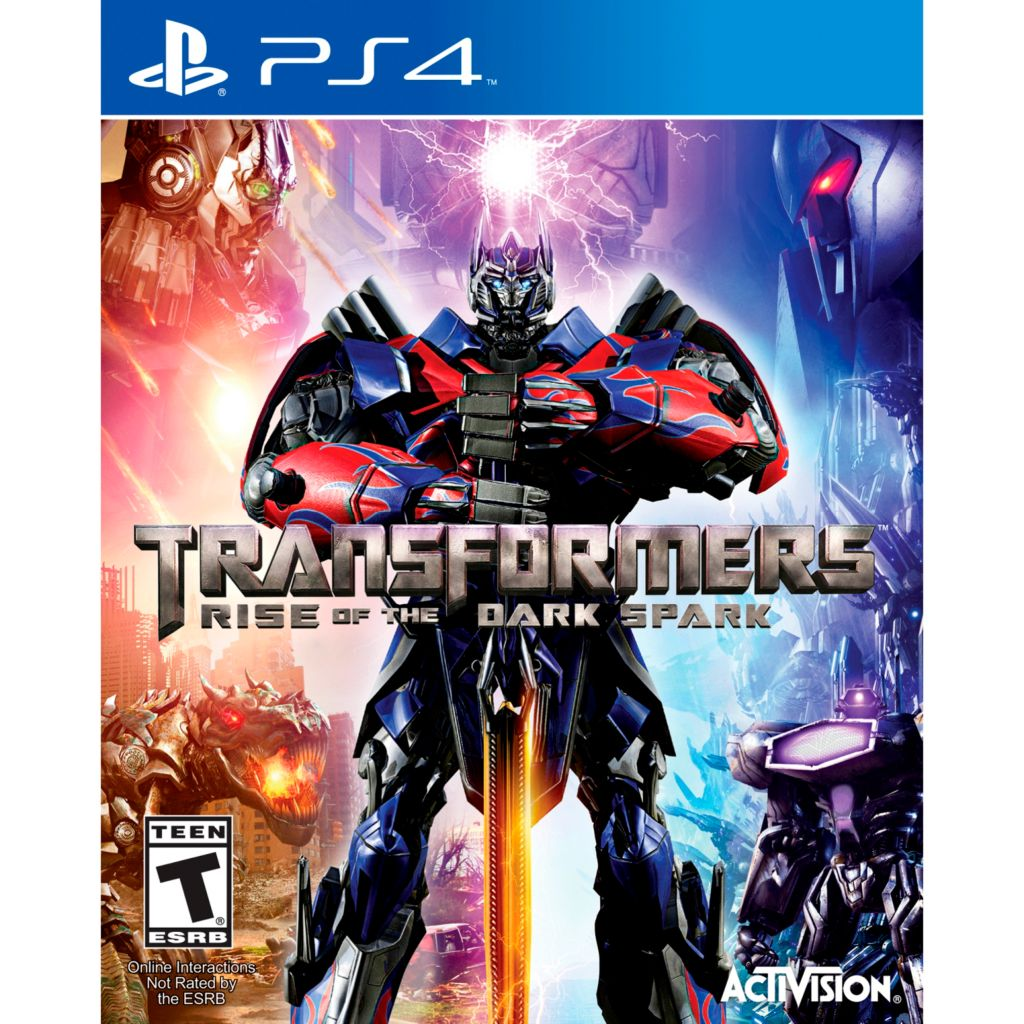 447-202 - Transformers: Rise of the Dark Spark Video Game