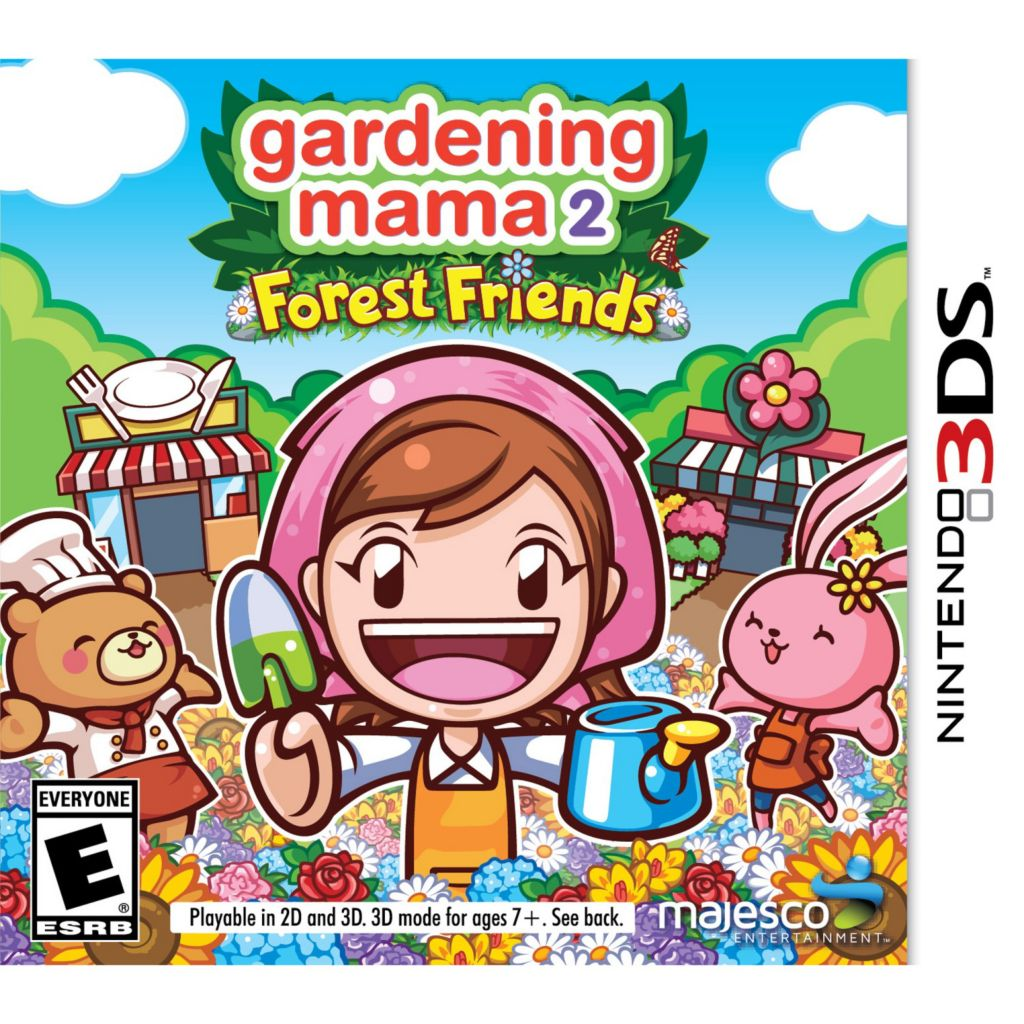 447-207 - Gardening Mama 2: Forest Friends Video Game