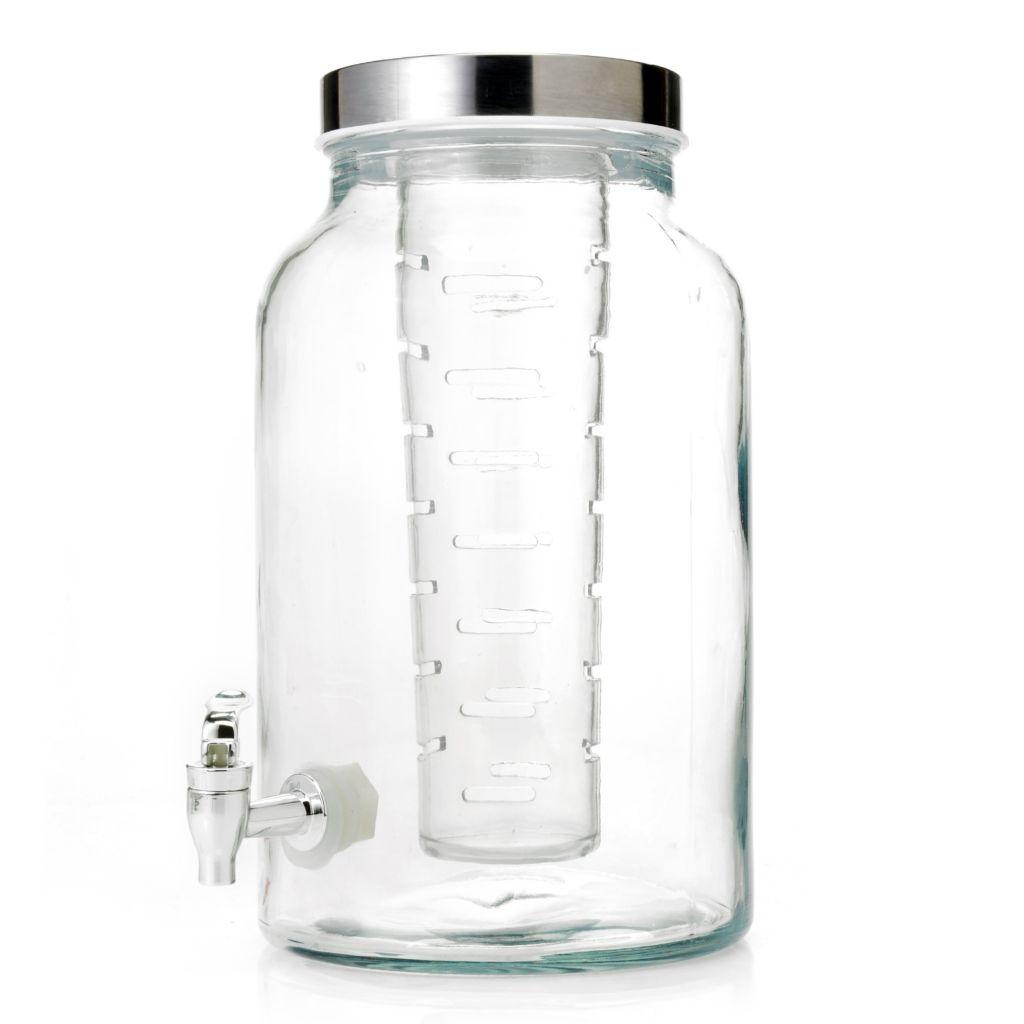 447-224 - Home Essentials 1.5 Gallon Flavor Infuser Glass Jug Dispenser