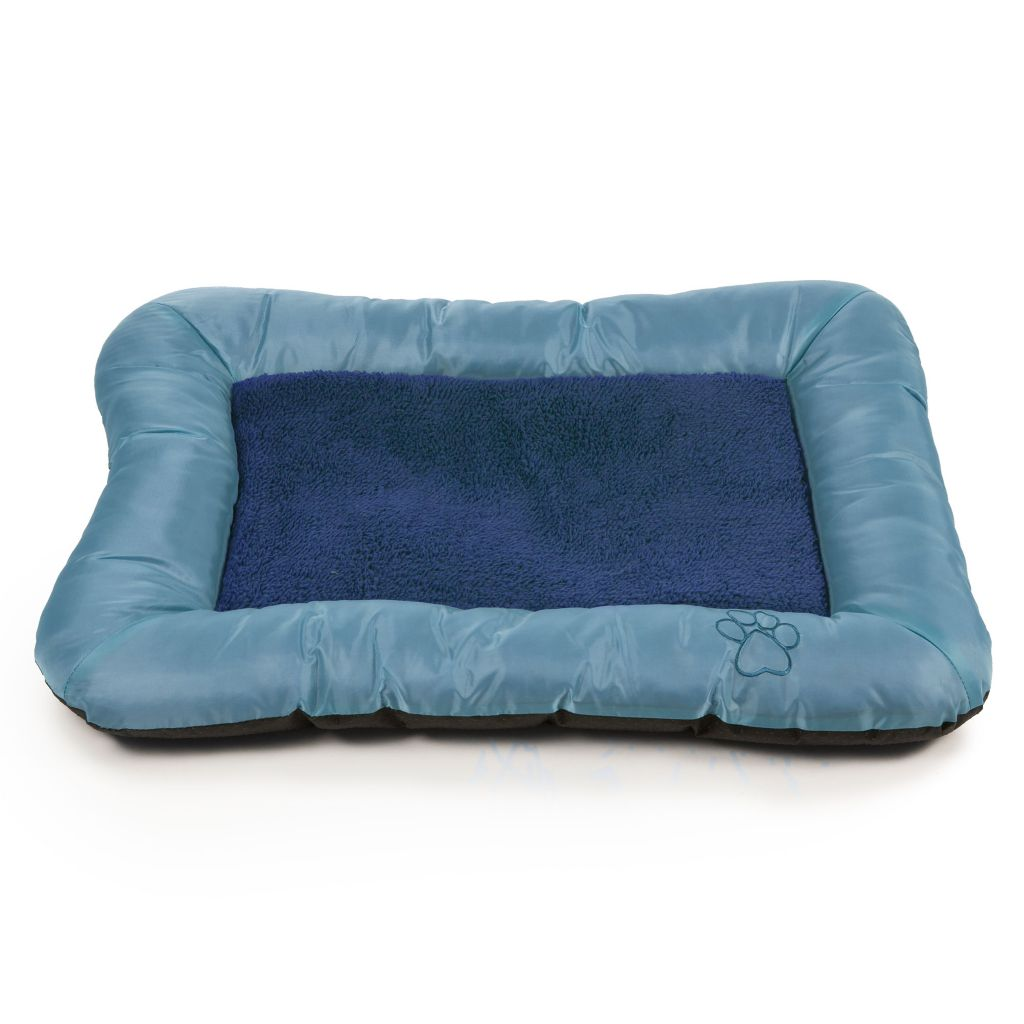 447-238 - PAW Plush Cozy Pet Crate Dog Bed w/ Memory Foam
