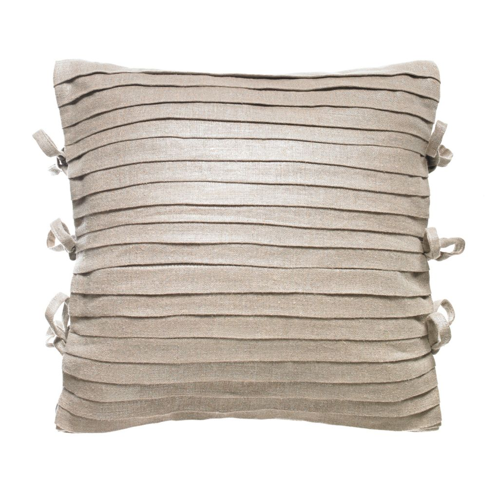 "447-249 - Croscill 16"" x 16"" Metallic Fashion Pillow"