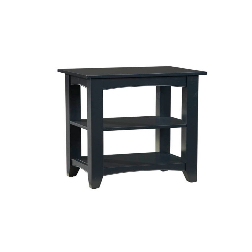 "447-291 - Alaterre Furniture 27"" Shaker Cottage Two-Shelf End Table"