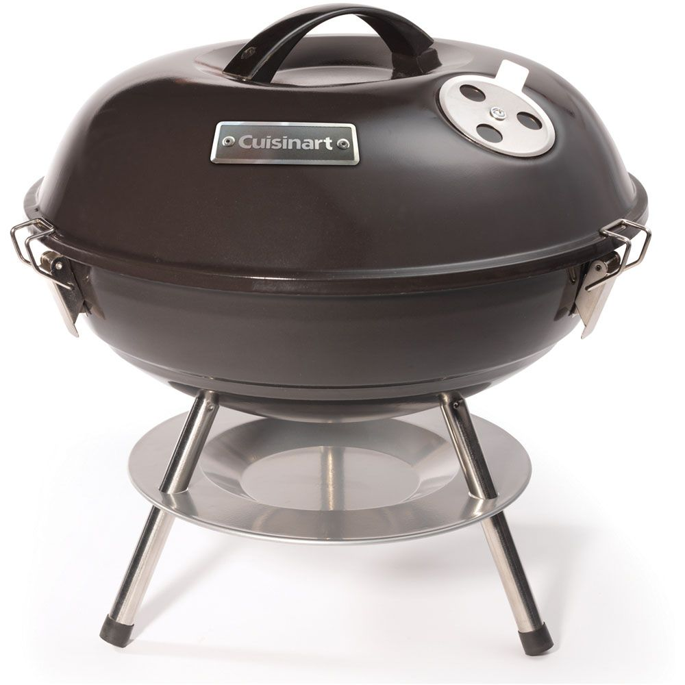 """447-302 - Cuisinart 14"""" Portable Charcoal Grill"""