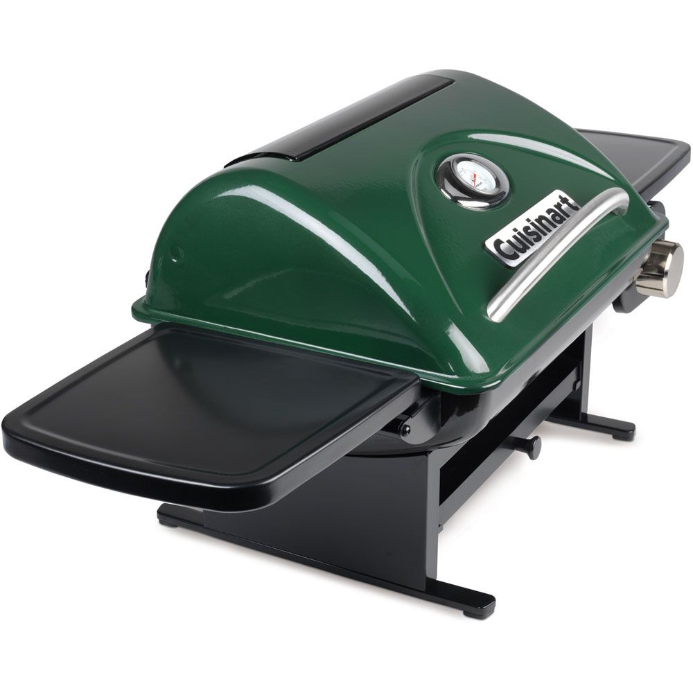 """447-308 - Cuisinart Everyday 26"""" Portable Outdoor LP Gas Grill w/ Removable Side Panels"""