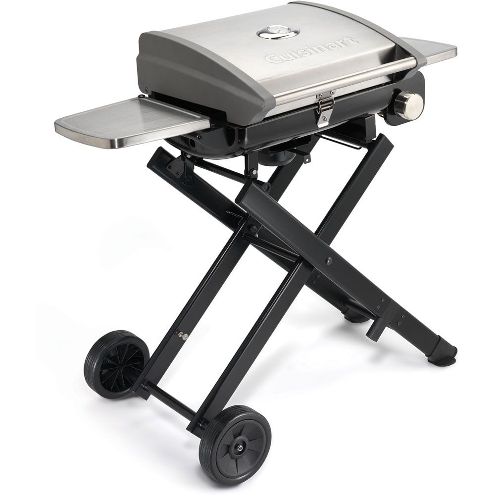 "447-309 - Cuisinart All-Foods 41"" Roll-Away Portable Outdoor LP Gas Grill"