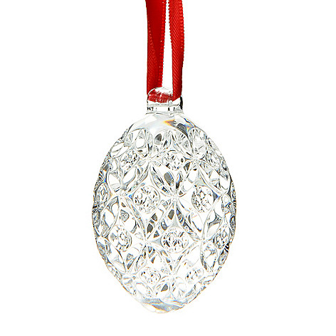 447-325 - Waterford® Crystal 2.5'' Geometric Egg Ornament