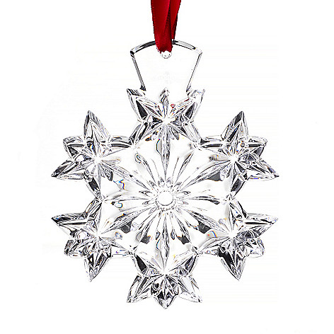 447-326 - Waterford Crystal 4'' Snowflake Ornament