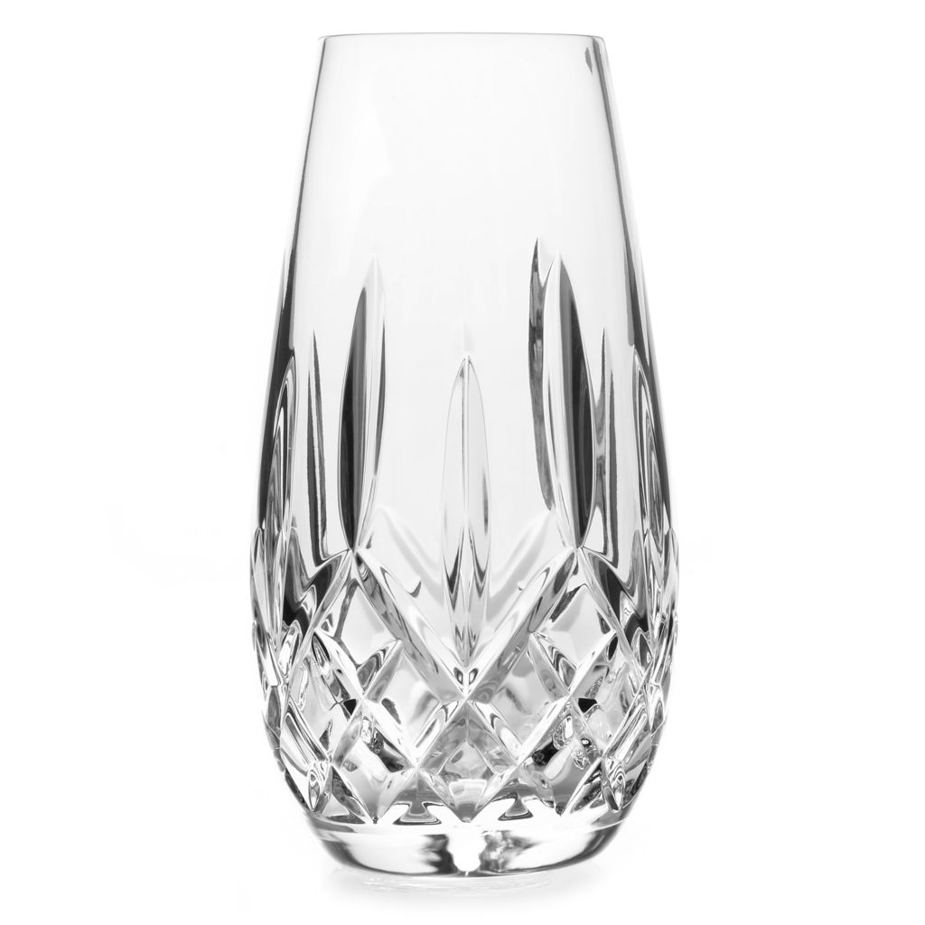 "447-356 - Waterford® Crystal Lismore 6"" Wedge & Diamond Cut Bud Vase"