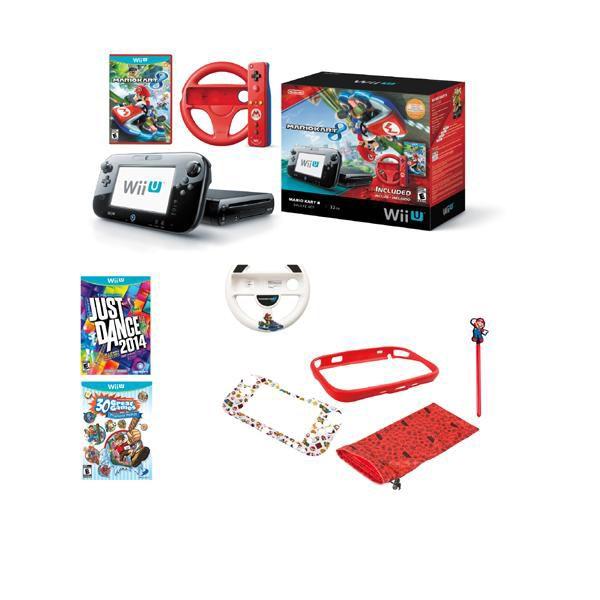 447-424 - Nintendo Wii-U Mario Kart 8 Bundle