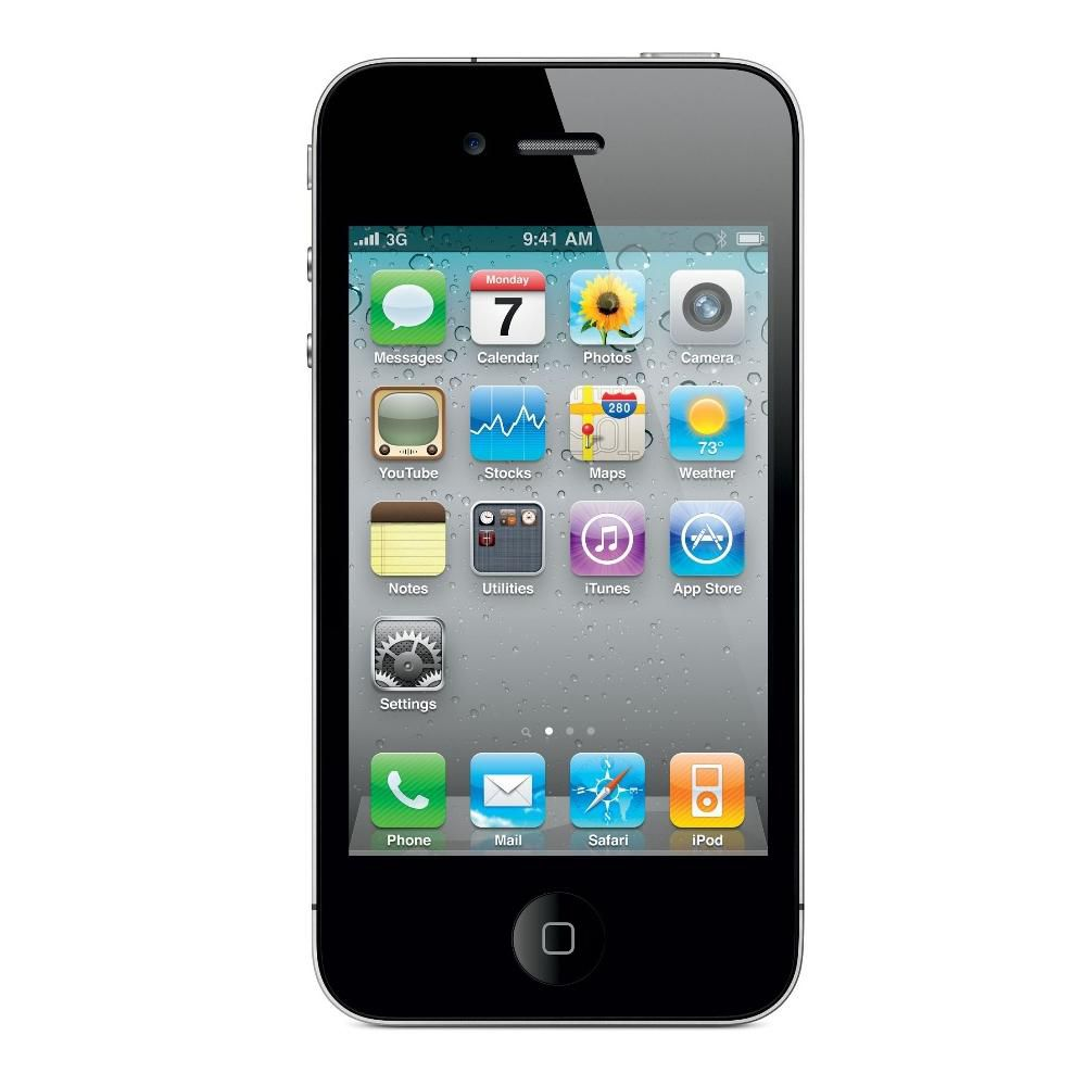 447-452 - Apple iPhone 4 AT&T 2G 8GB Smartphone