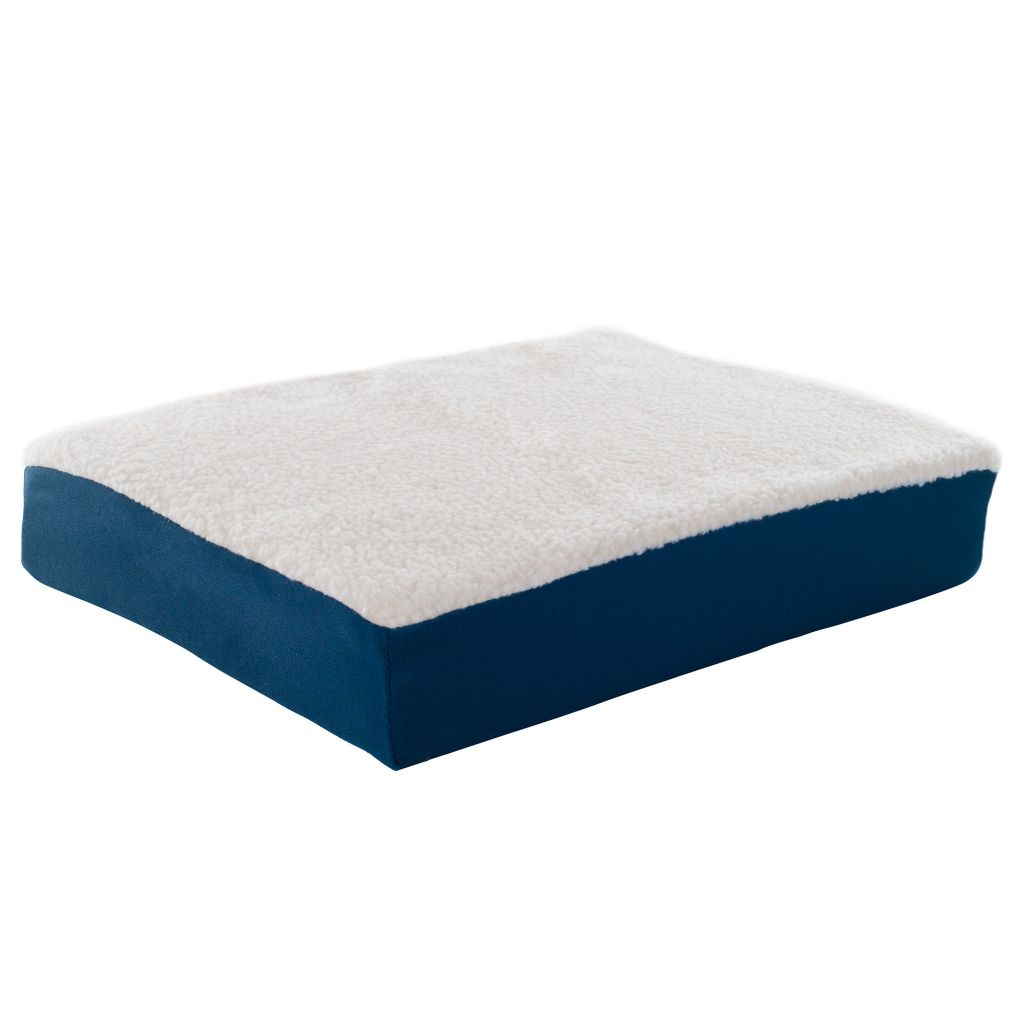 447-857 - Forever Comfy Gel Seat Cushion w/ Removable Faux Sheepskin Cover