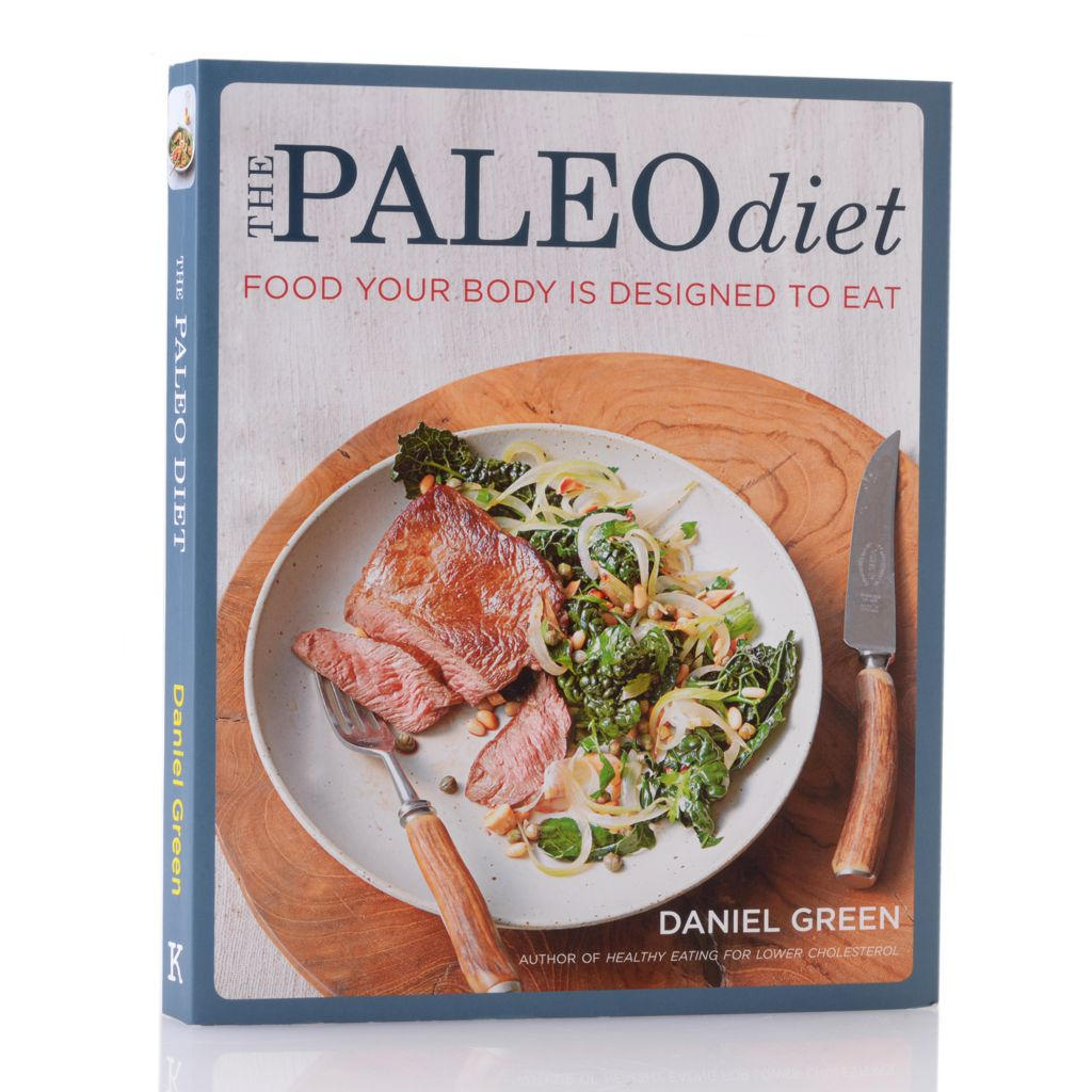 447-887 - The Paleo Diet 100 Easy Recipes Soft Cover Cookbook by Daniel Green