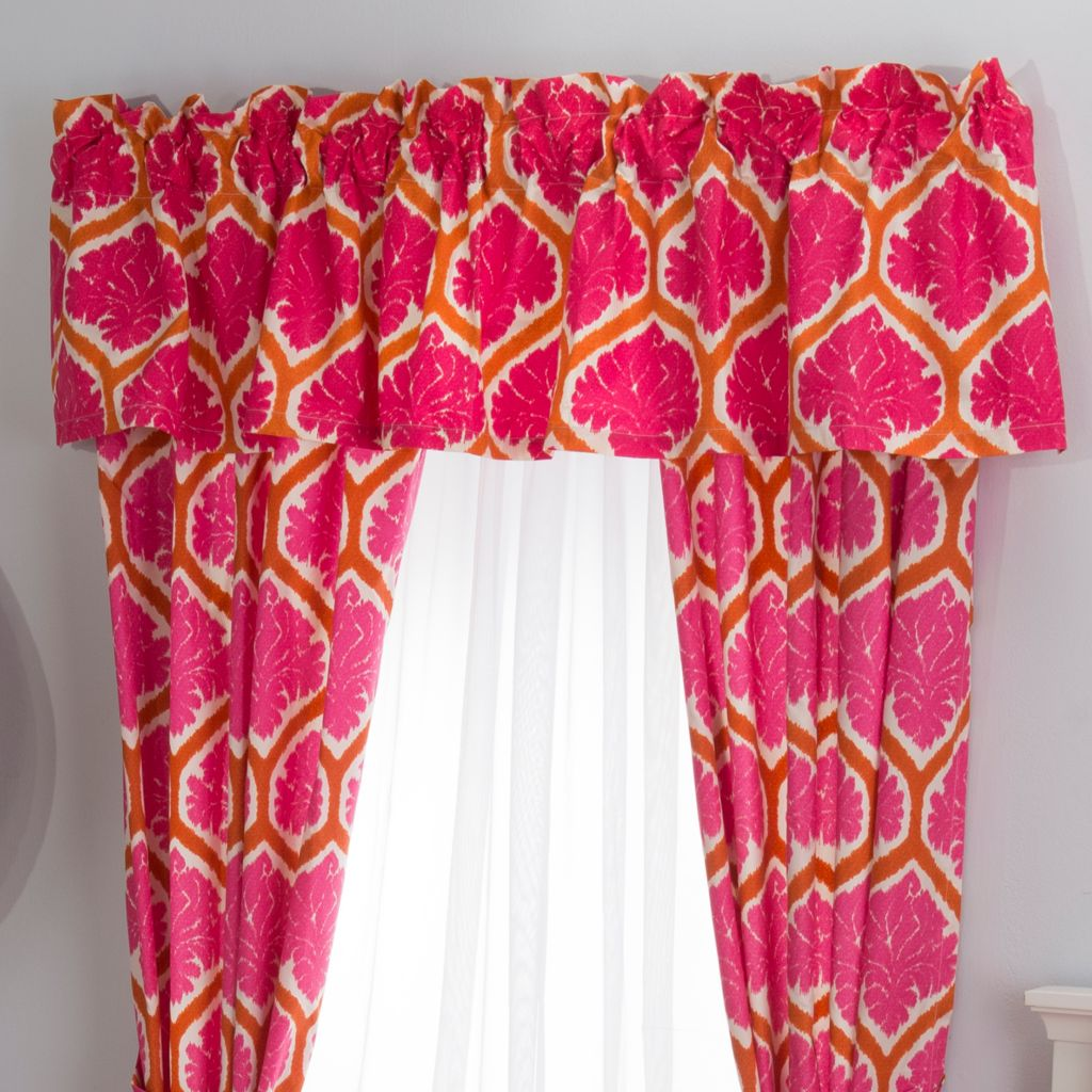 "447-927 - Cozelle® 84"" x 15"" Printed Window Valance"