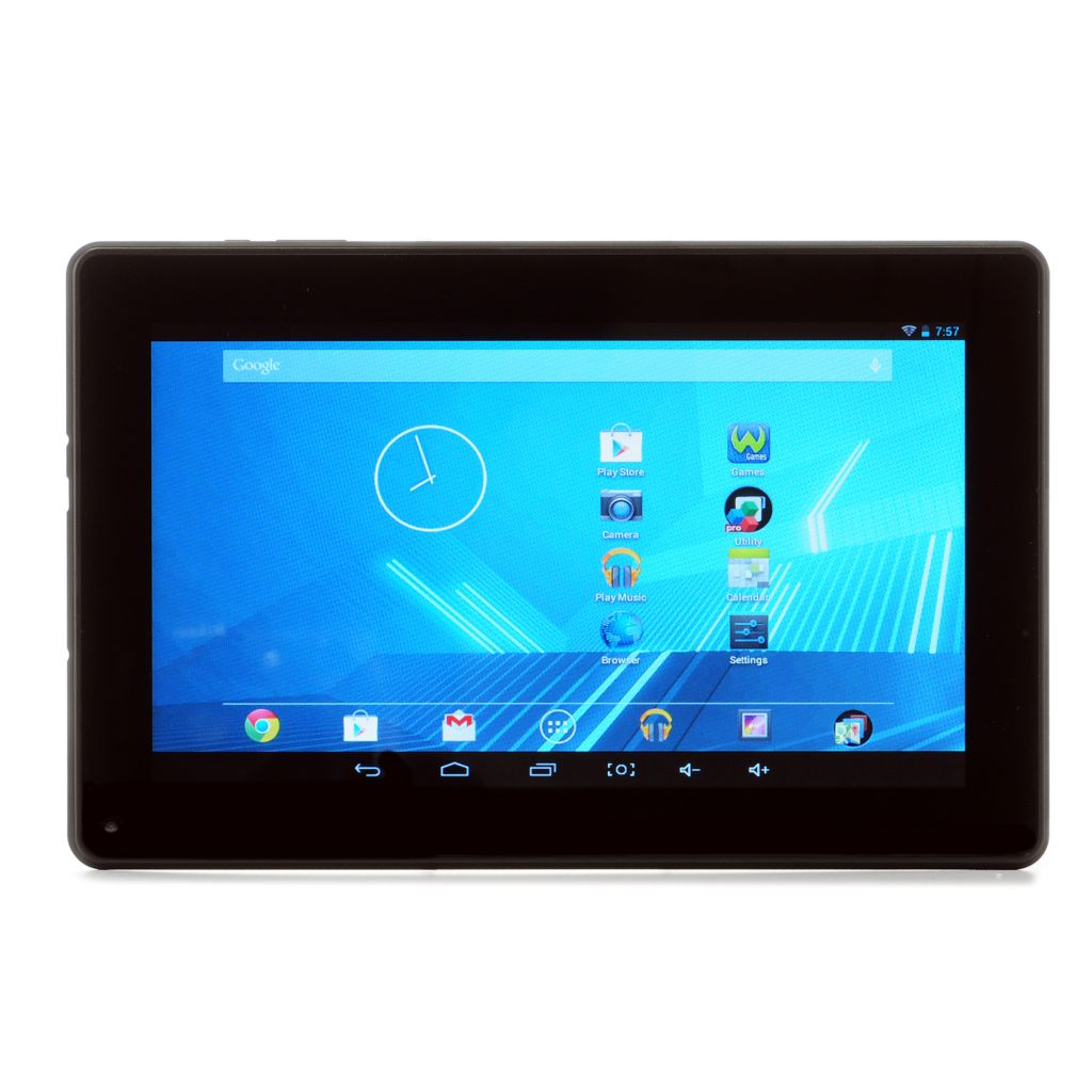 "447-930 - D2® 9"" Android 4.2 8GB Dual-Core Google Certified Printed or Solid Bluetooth® Tablet"