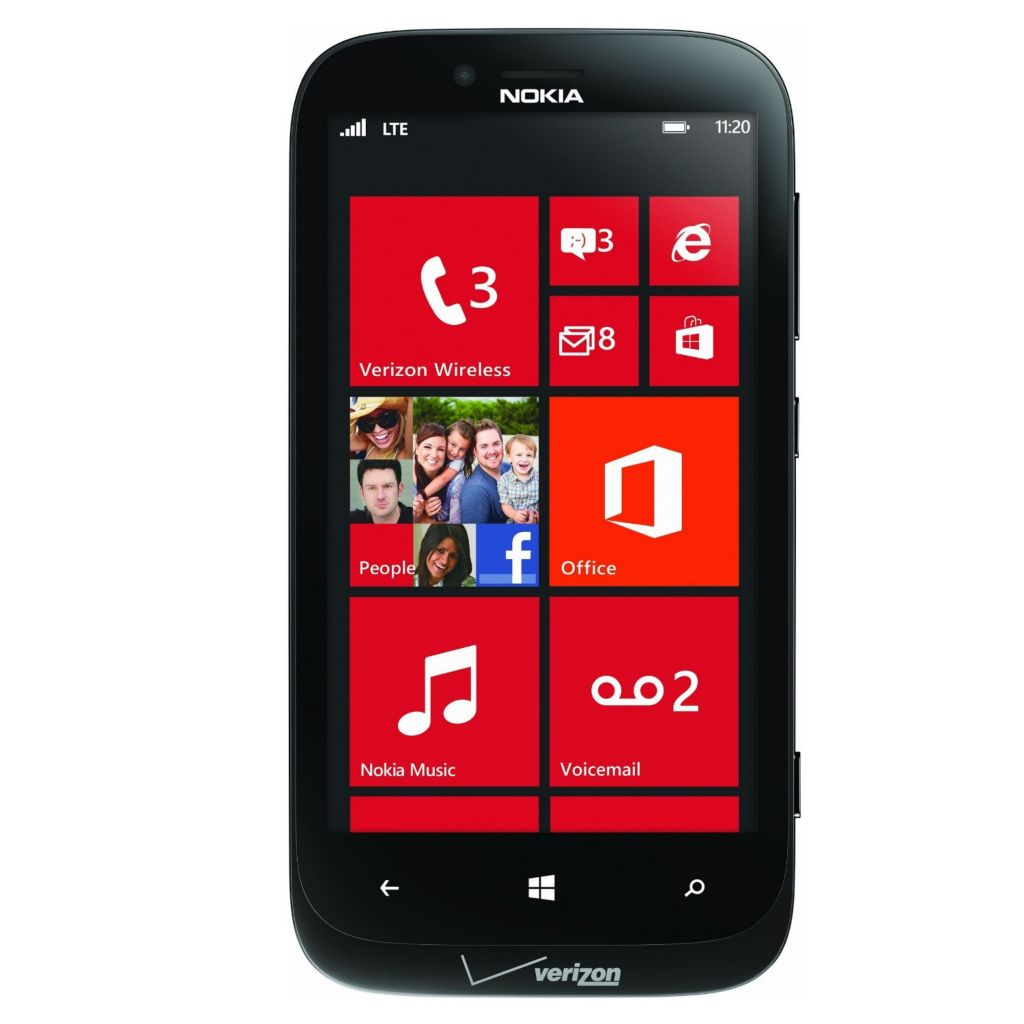 447-993 - Nokia Lumia 16GB GSM Unlocked + Verizon CDMA 4G LTE Windows® Phone