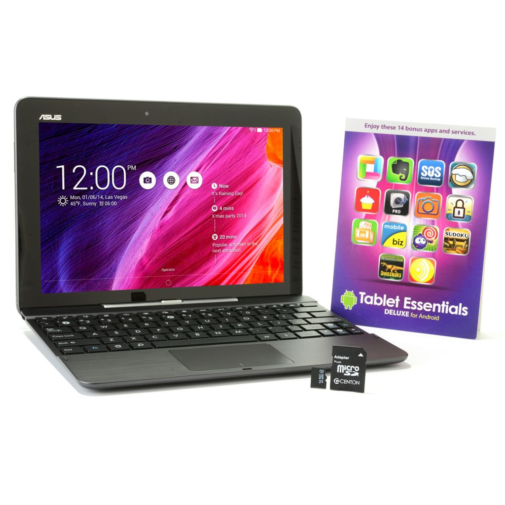 "448-071 - ASUS 10"" 16GB Android™ 4.4 Transformer Pad w/ Software & 16GB Micro SD Card"