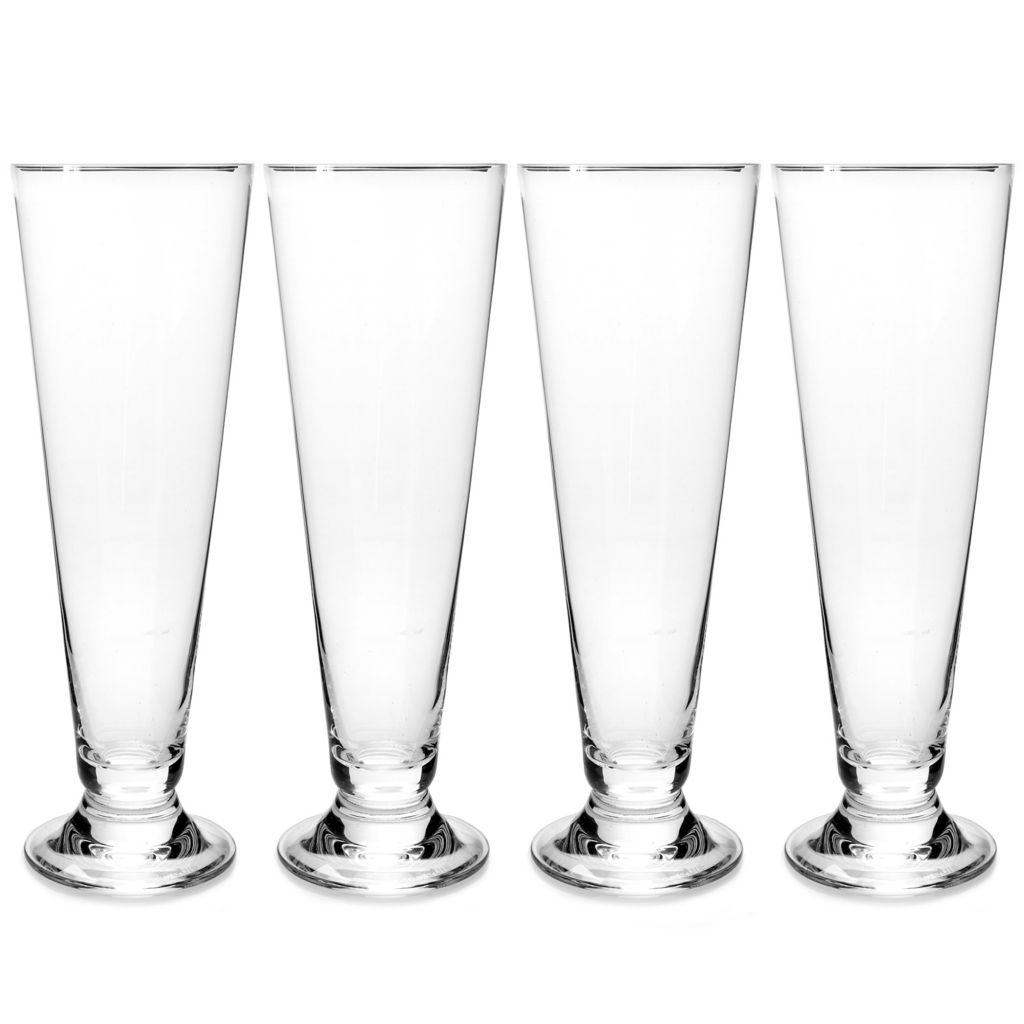 448-151 - Marquis® by Waterford® Set of Four 16 oz Crystalline Pilsner Glasses