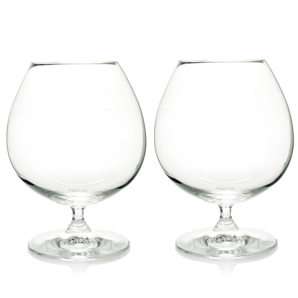 448-152 - Marquis® by Waterford® Set of Two 26 oz Crystalline Brandy Glasses