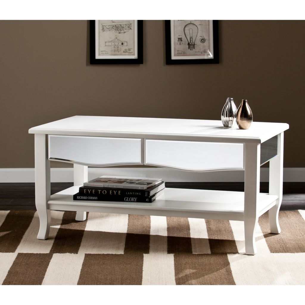 448-184 - Alma Mirrored Choice of Table