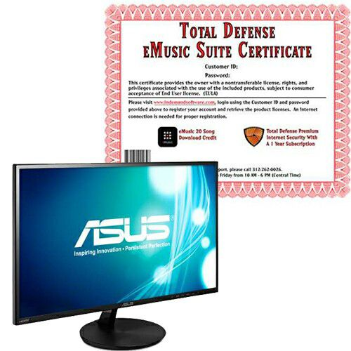 "448-268 - ASUS 24"" LED Widescreen Full HD Monitor"