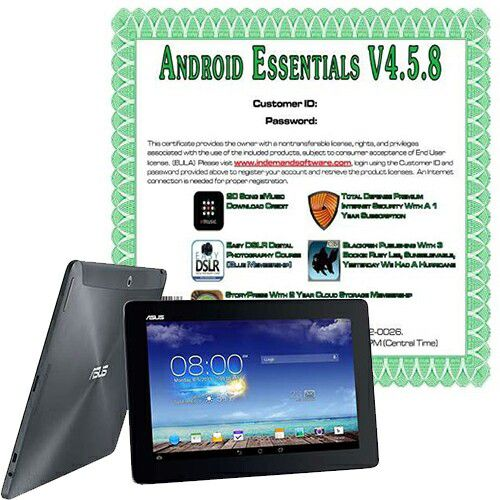 "448-287 - ASUS Transformer 10.1""  Android 4.2 32GB Storage Touchscreen Tablet"