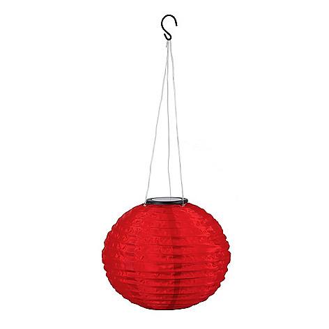 448-299 - EZ Solar® Fabric Solar LED Hanging Lantern