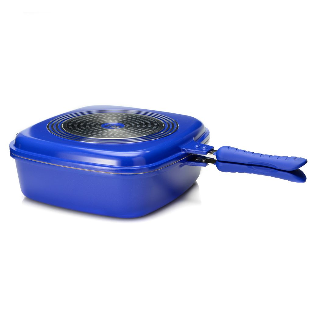 448-307 - Cook's Companion™ Cast Aluminum Ceramic Nonstick 5 qt Multi Purpose Cookware System