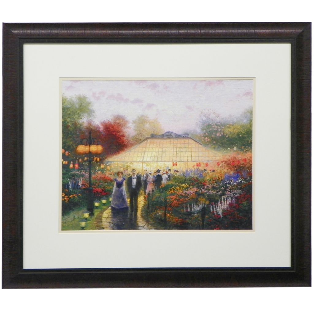448-317 - Thomas Kinkade Choice of Framed Matte Print- Hand-Signed by the Artist