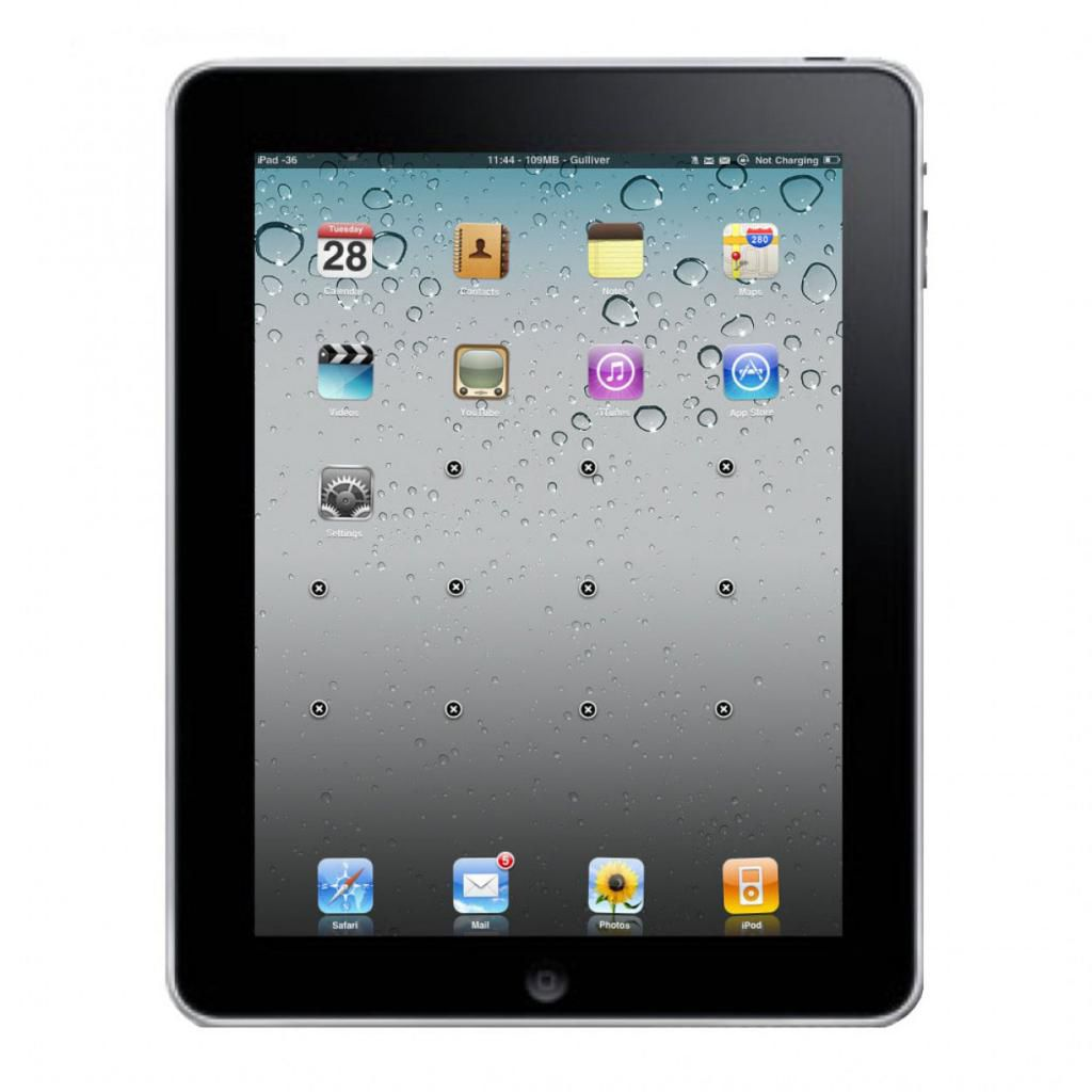 448-320 - Apple iPad 16GB, 32GB or 64GB Tablet w/ Built-in Wi-Fi - Refurbished