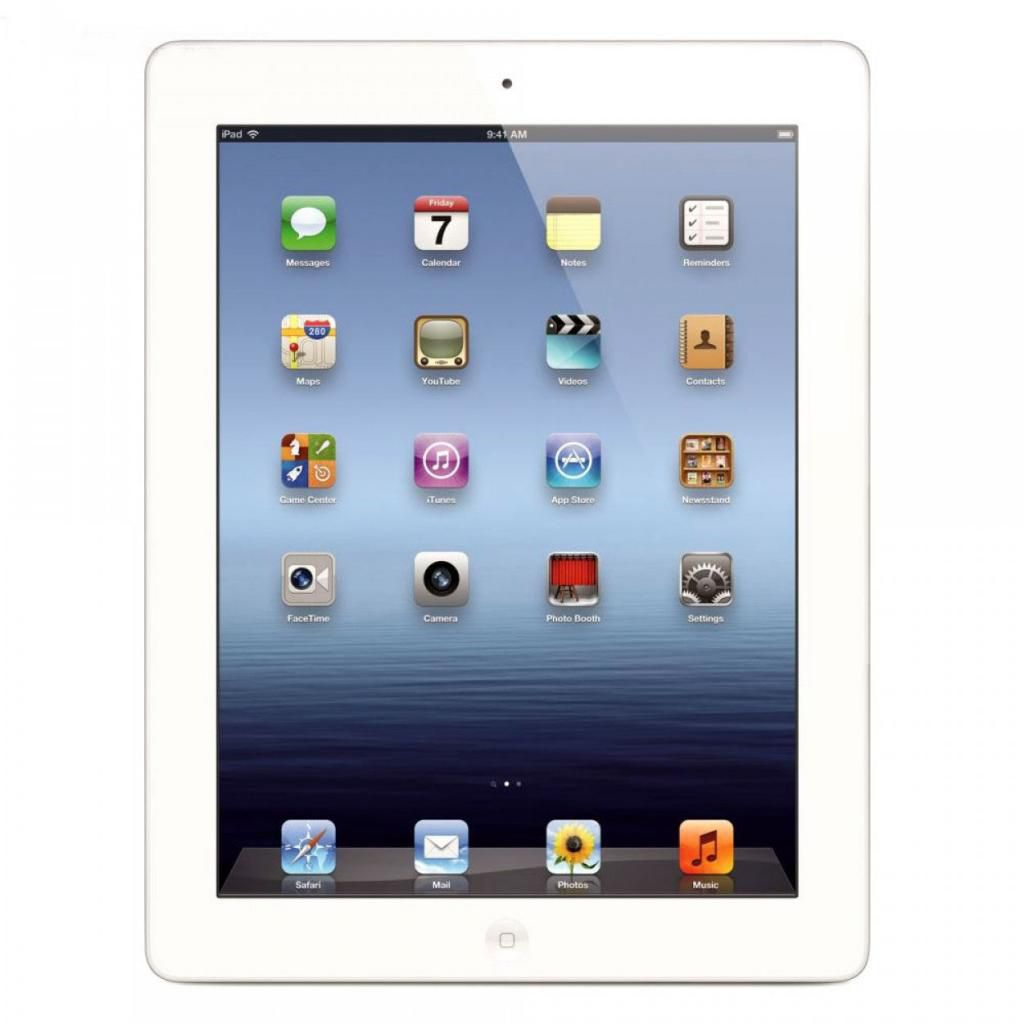 448-327 - Apple iPad 3 AT&T 3G 16GB, 32GB or 64GB Tablet w/ Built-in Wi-Fi - Refurbished