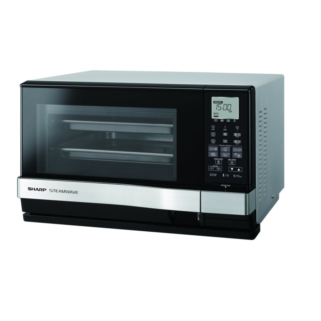 448-371 - Sharp 900W 3-in-1 Steamwave Microwave Oven w/ Steamware & Grill Function