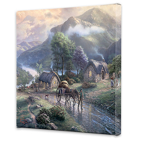 448-381 - Thomas Kinkade ''Emerald'' Choice of 20'' x 20'' Gallery Wrap