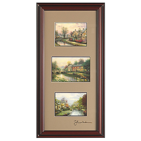 448-385 - Thomas Kinkade Choice of Collection 3-in-1 Framed Print